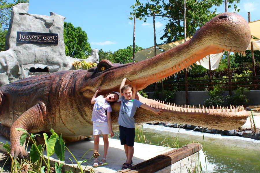 Sarcosuchus di langkawi crocodile farm