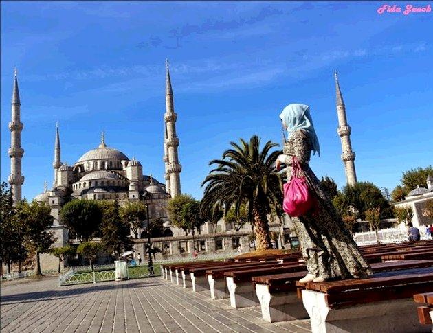 Fida Jacob di Istanbul, Turki