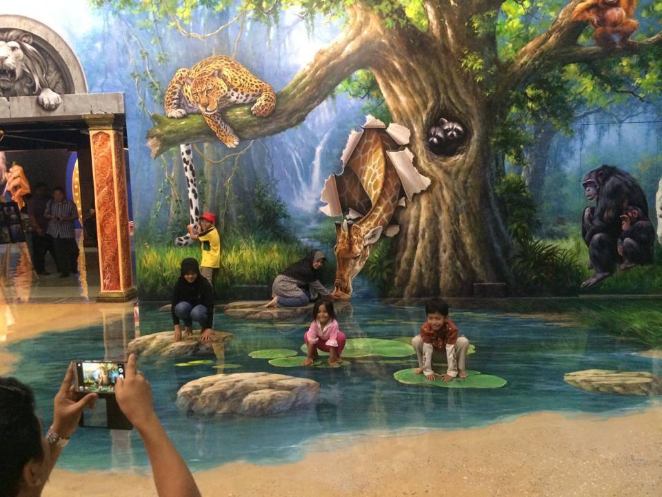 Muzium 3D Langkawi - tempat menarik untuk selfie/ bergambar dilangkawi