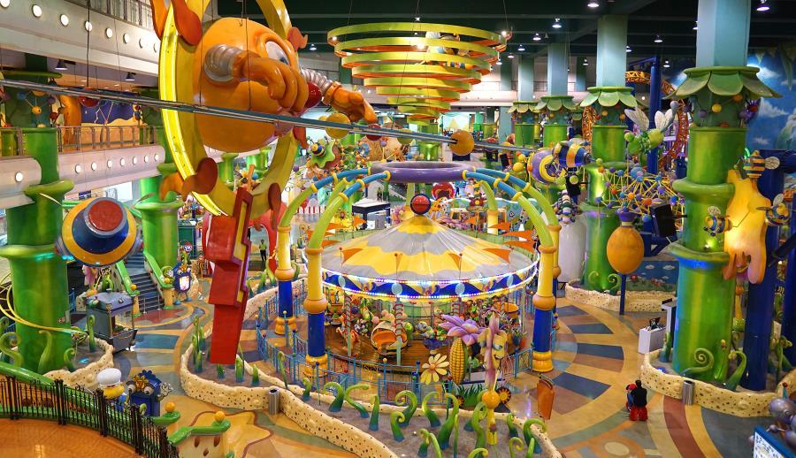 cosmos world fantasy garden in berjaya times square kl