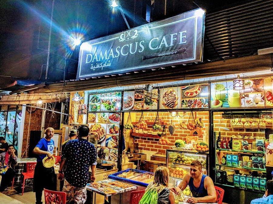 damascus cafe cenang