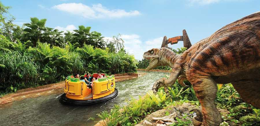 jurassic park lost adventure ride