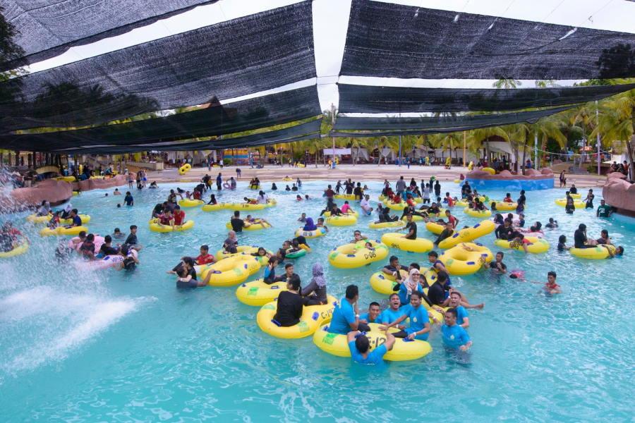 kawasan mandi a famosa resort