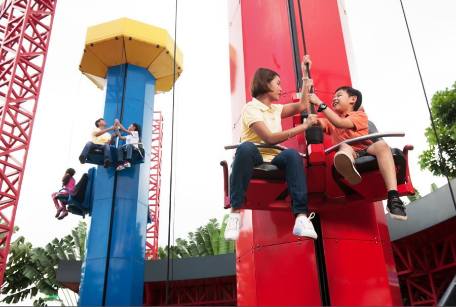 kids power tower legoland malaysia johor