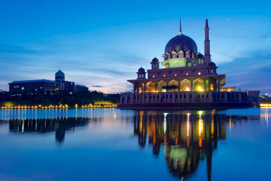 masjid putra - tempat menarik & free di putrajaya