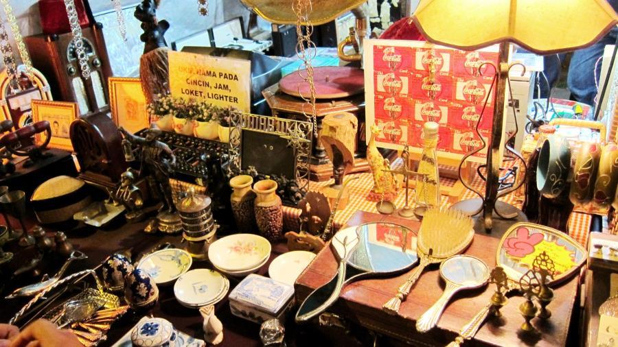tempat shopping menarik di penang - pasar karat