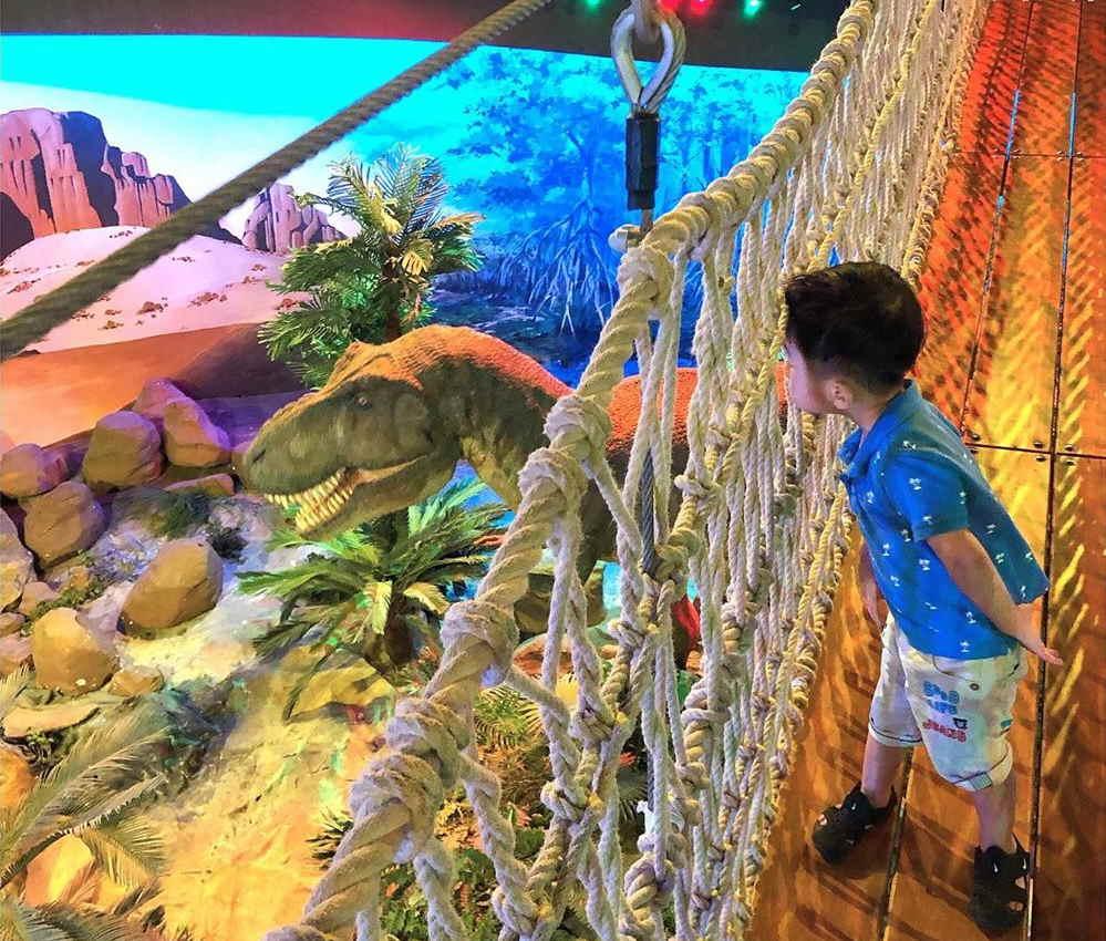 dinosaur di aquaria klcc dengan tiket aquaria murah