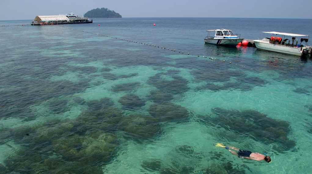 tarikan alam di pulau langkawi - pulau payar