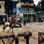 A Famosa Resort -  cowboy show melaka