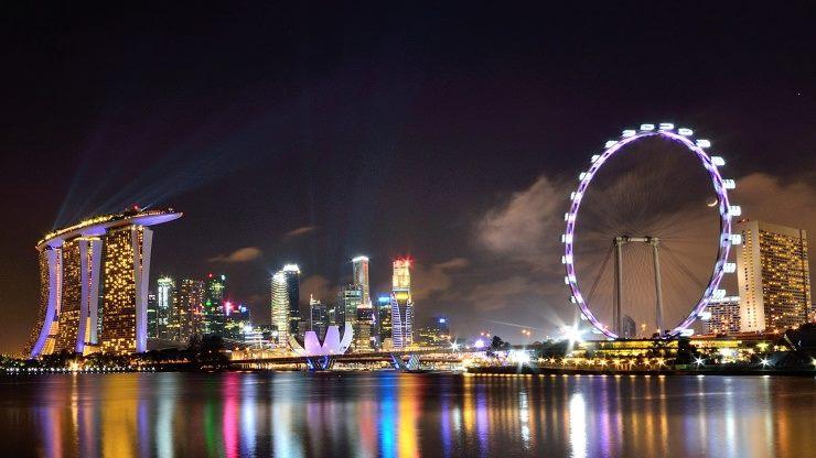 tempat best di singapura - singapore flyer