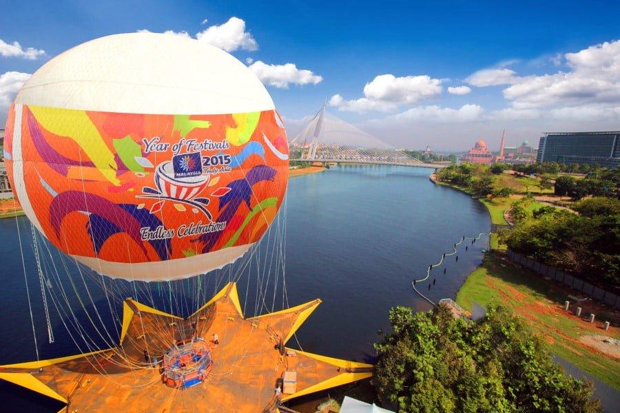 SkyRide Festivals Park - tempat menarik untuk selfie/ bergambar di putrajaya