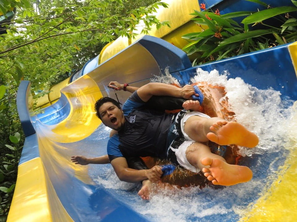 slide air di escape