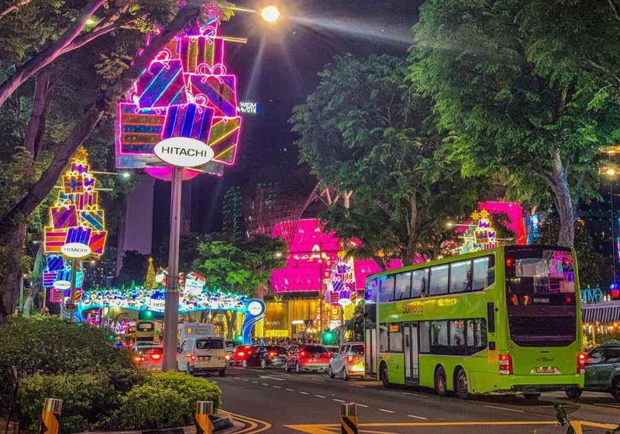 traffic orchard road singapore