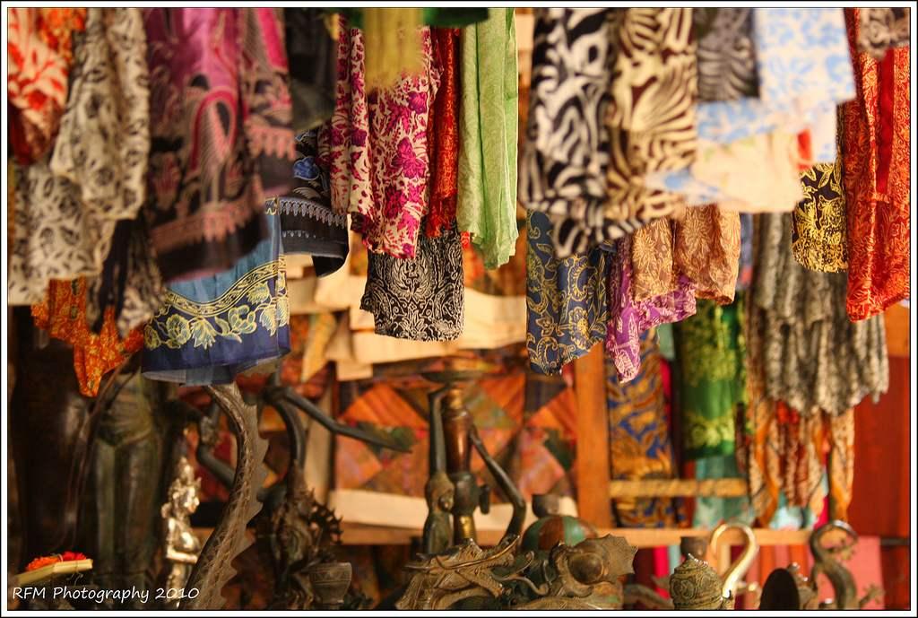 Pasar Ubud - tempat shopping menarik di Bali