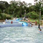 kolam air panas poring - tempat best kota kinabalu