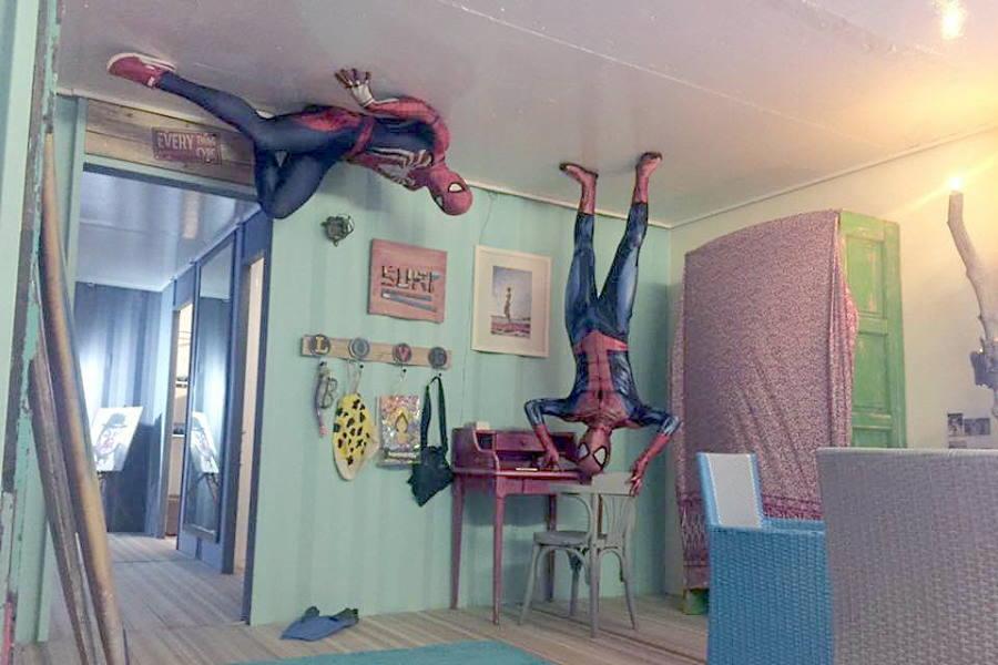 spiderman di upsidow
