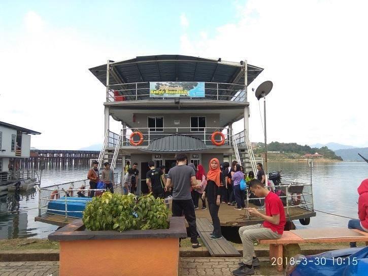 boathouse tasik kenyir