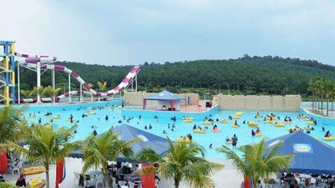 bangi wonderland pool