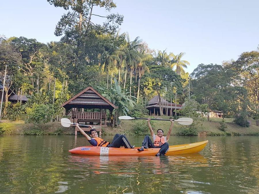 kayak redtma adventure urban park melaka
