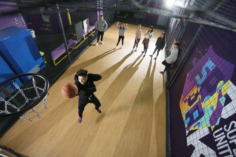 main street basketball di superpark