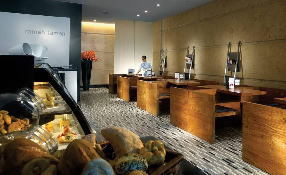 dining area maya hotel ramah tamah