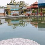kolam air panas cherana putih pool