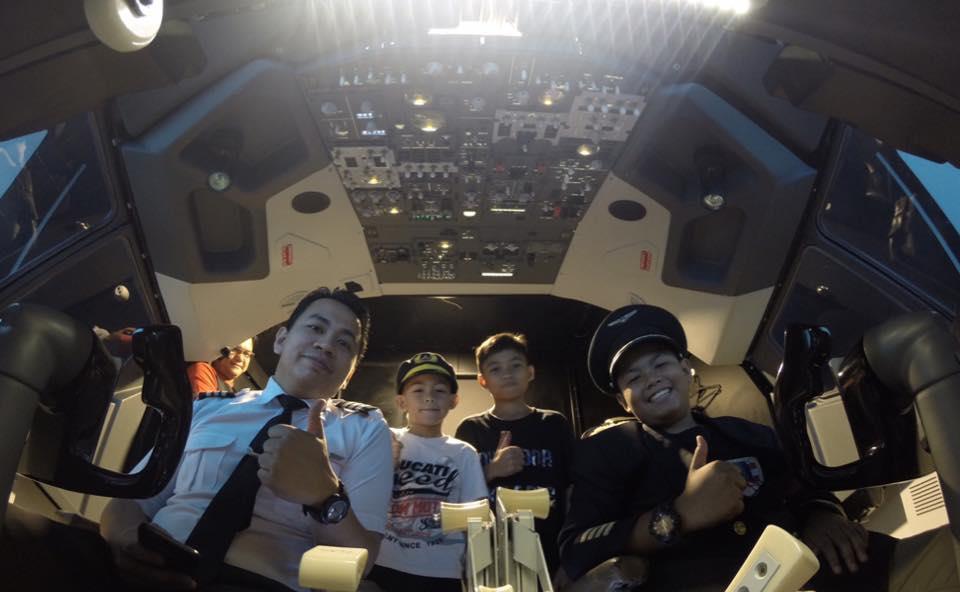 sky simulator flight