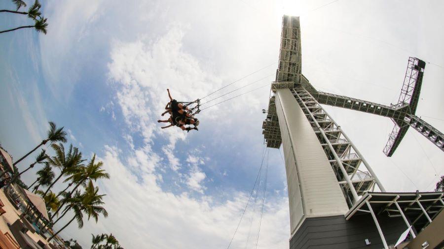 giant swing sentosa