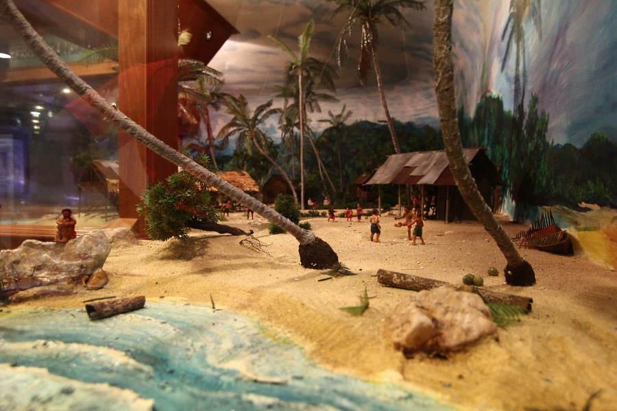 diorama muzium nelayan balau