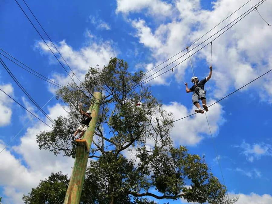 high rope course desaru