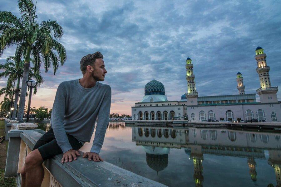 masjid kota kinabalu pagar