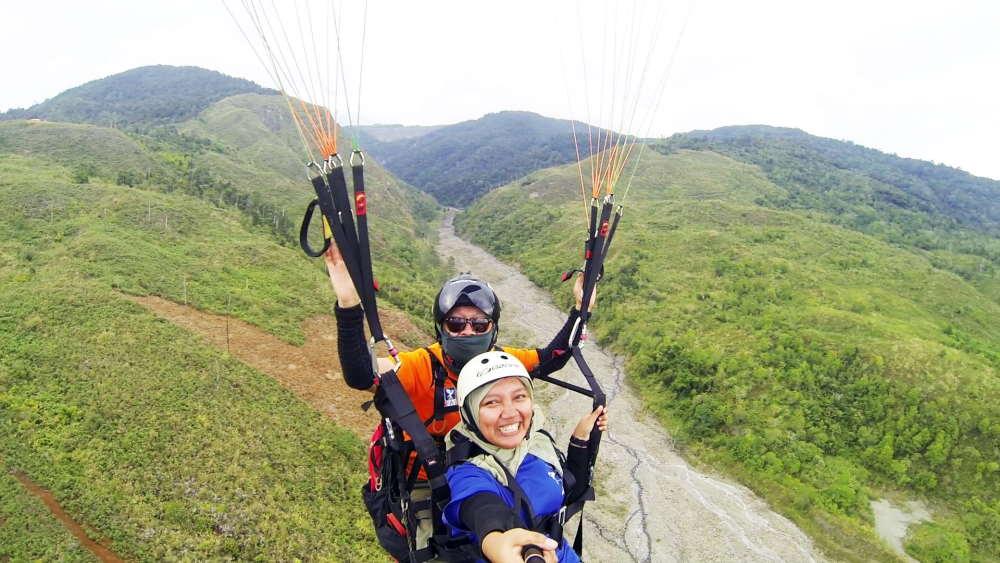 ranau paragliding park