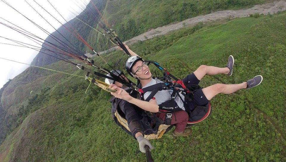 ranau paragliding park2