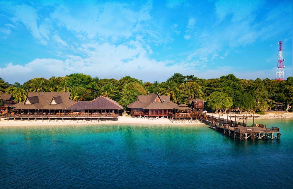 reef dive resort mataking sabah