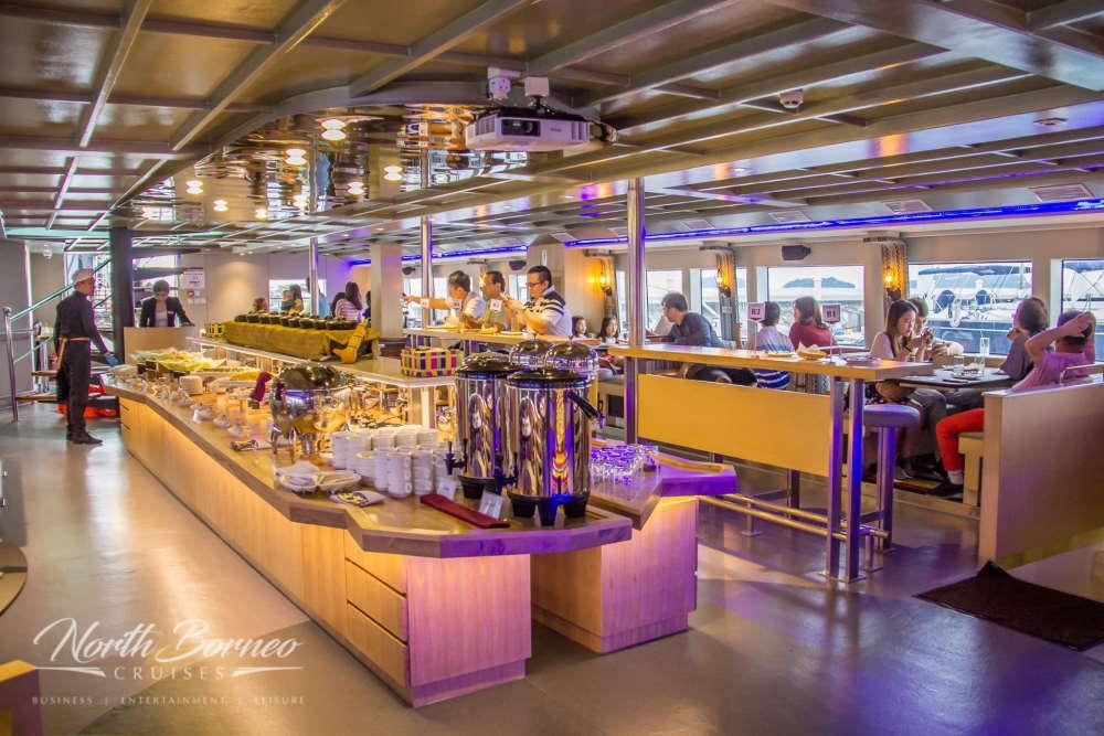 tempat makan north borneo dinner cruise kota kinabalu-
