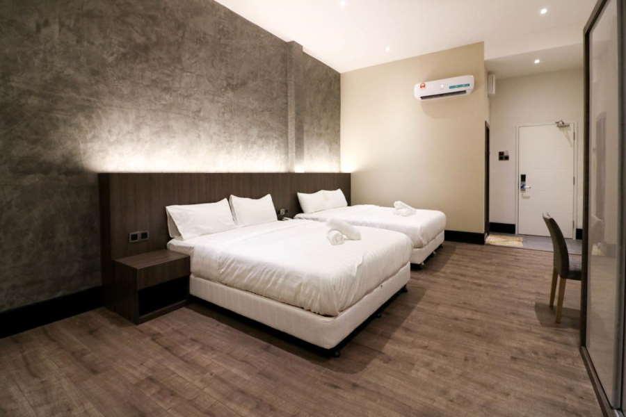 bilik di muk by victoria melaka yang simple tapi cantik
