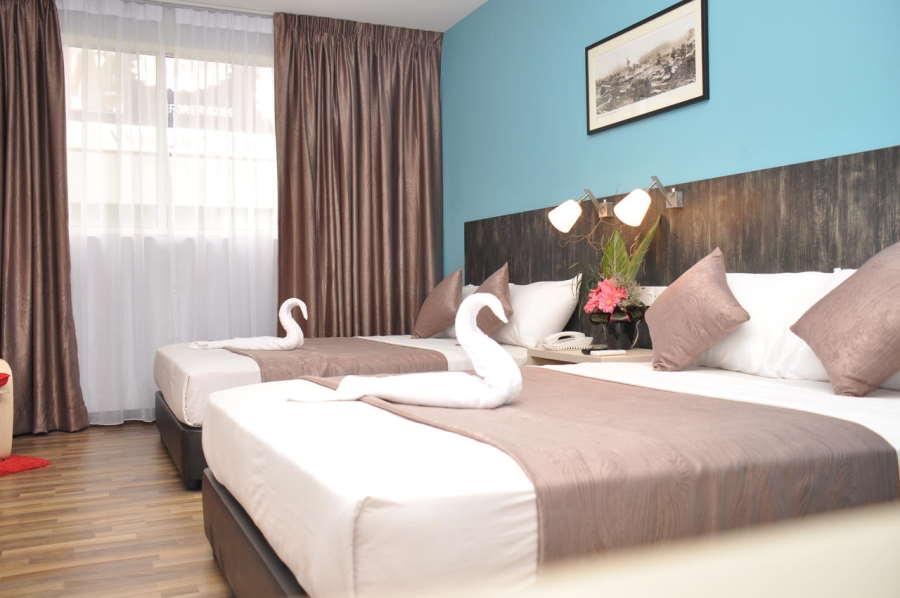 bilik di hotel k di jalan tar