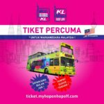 tiket percuma promosi hop on hop off jun
