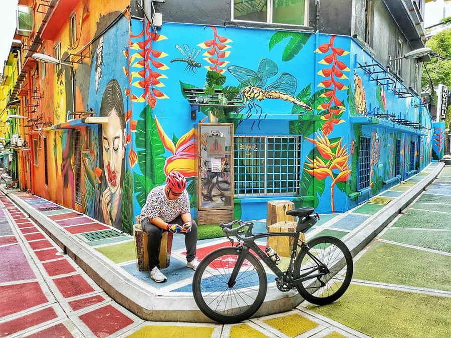 street art jalan alor