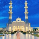 masjid sri sendayang macam luar negara waktu malam