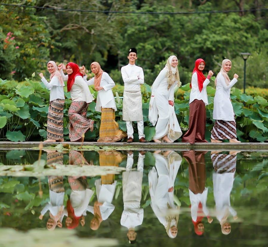 taman botani penang untuk photoshoot gambar nikah
