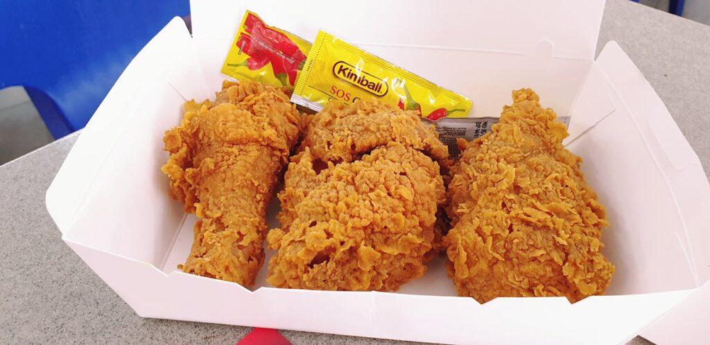 ayob khan punya ayam goreng yang macam kfc