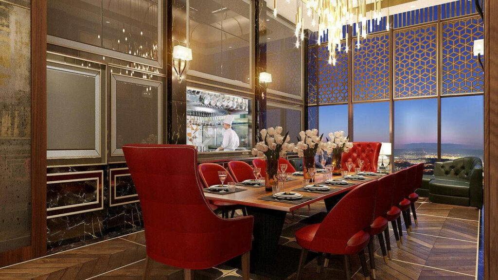 meja makan gordon ramsay restaurant sunway lagoon