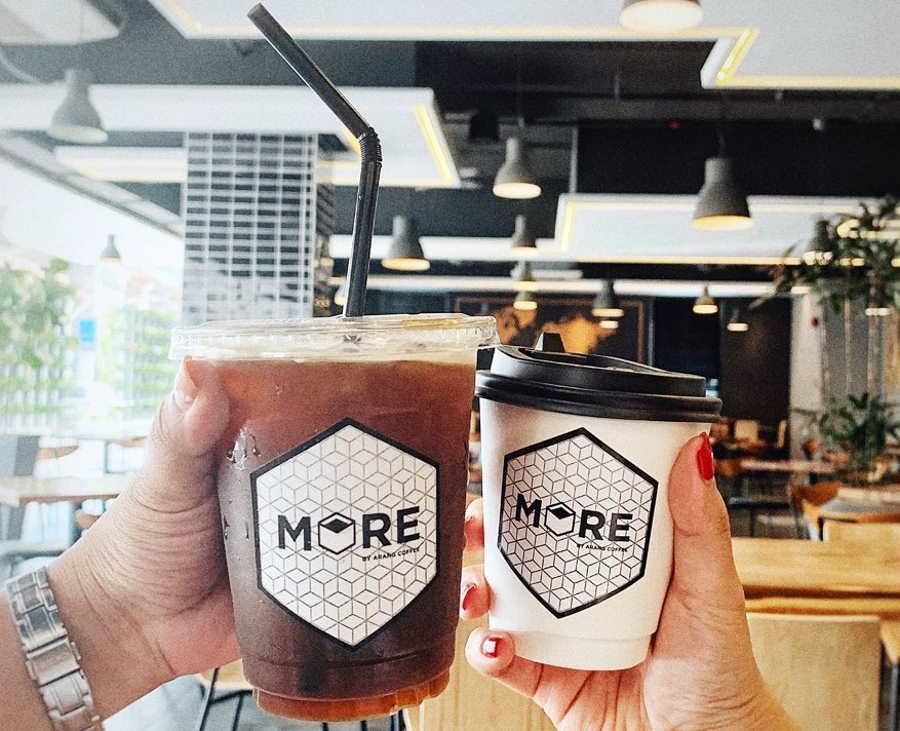 kafe more by arang coffee