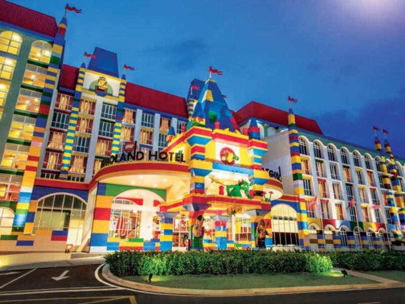 hotel best untuk kanak kanak di johor bahru - legoland hotel jb