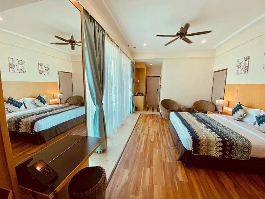 langkawi seaview ada bilik yang luas dan cantik untuk harga yang murah dan berpatutan