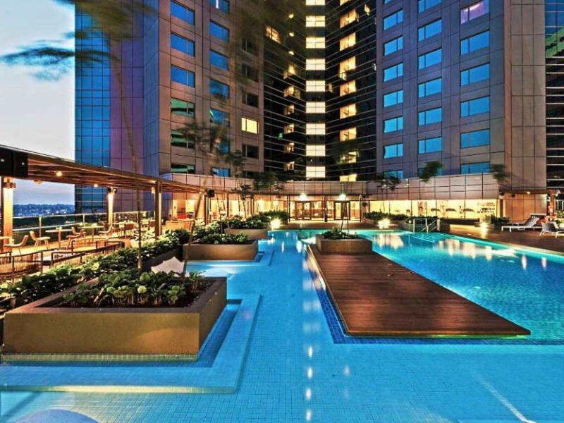 hotel best untuk honeymoon johor bahru - doubletree hilton jb